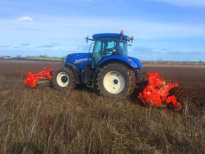 Land restoration equipment